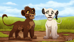 The Lion King - Koda and Bora