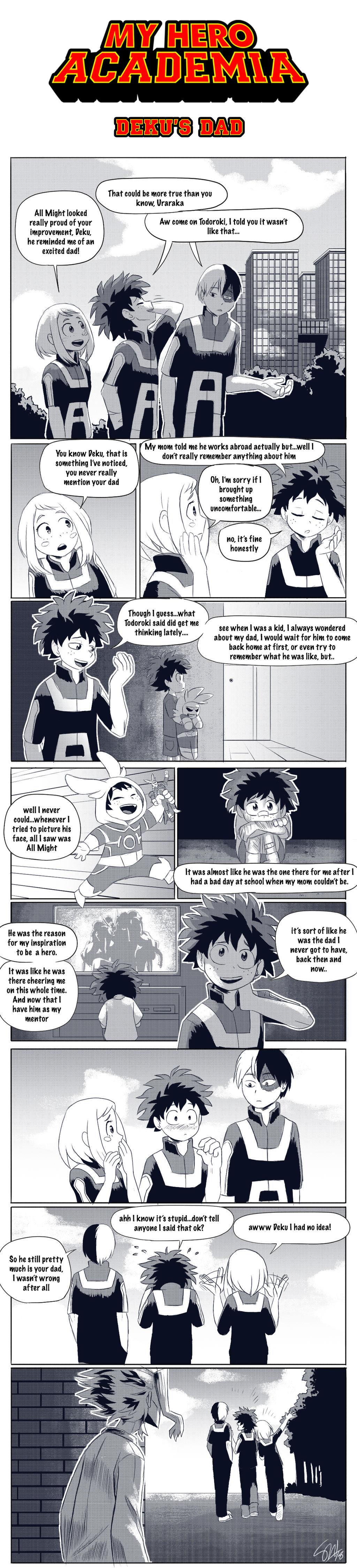 Boku No Hero Academia - Deku's Dad by TC-96 on DeviantArt