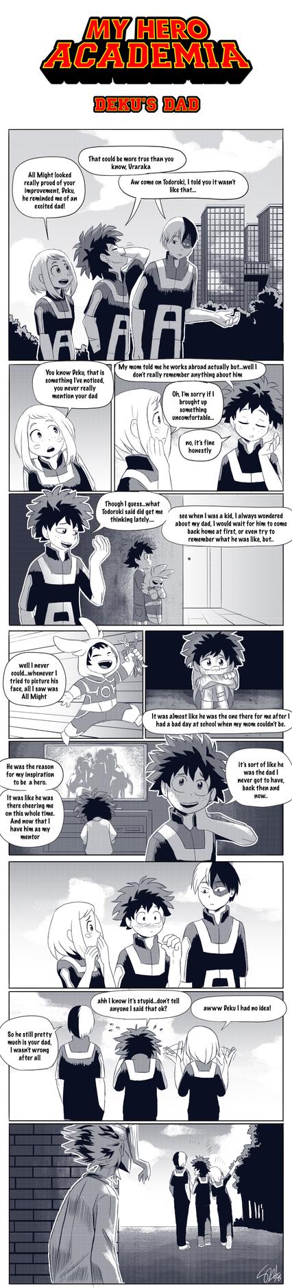 Boku No Hero Academia - Deku's Dad by TC-96