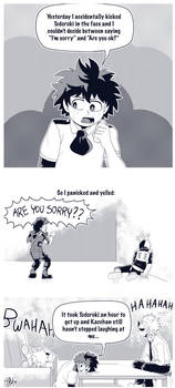 Boku No Hero Academia - R U Sorry?