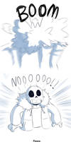 Endertale - this is why Sans doesn't adopt kids