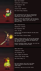 Interlopers - Character Profiles