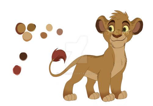 The Lion Guard - KionxRani's son Haki