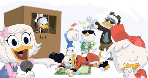 Ducktales Crew