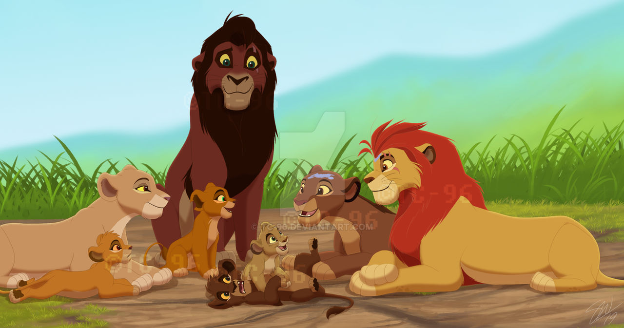 The Lion King Family Get Together By Tc 96 On Deviantart