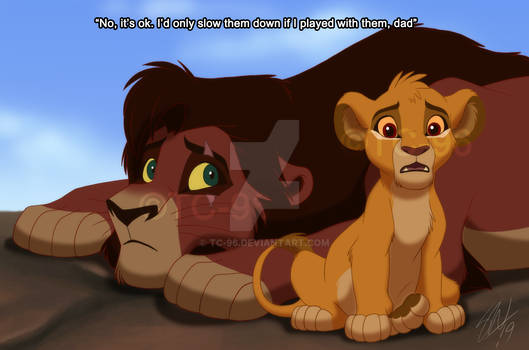 The Lion King - Left out