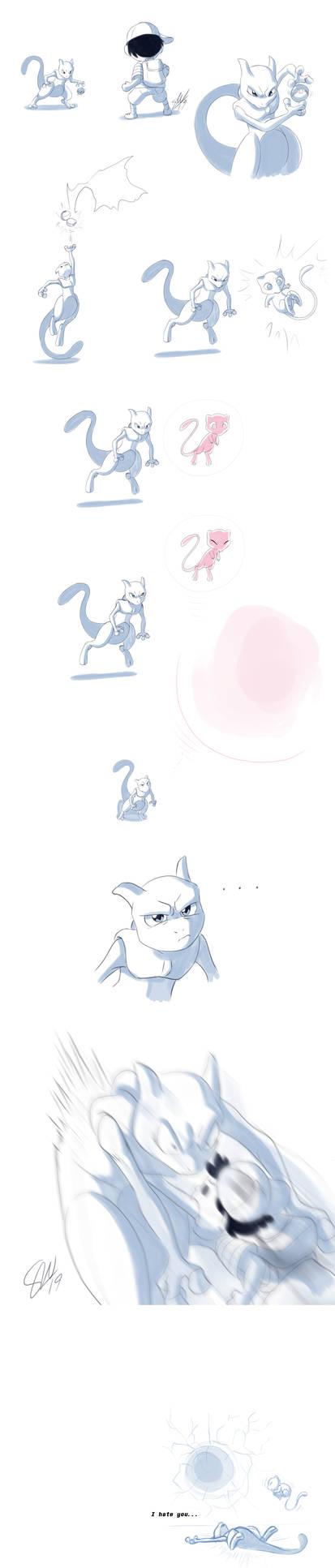 Mew is a bad battle partner