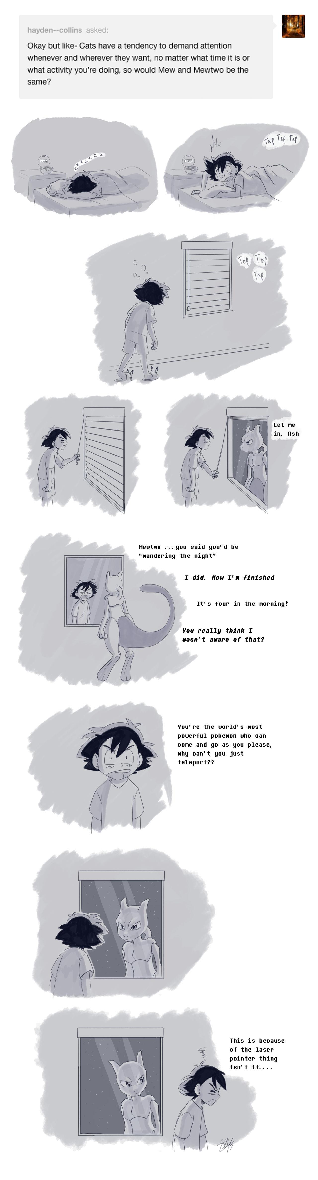 Mewtwo's revenge