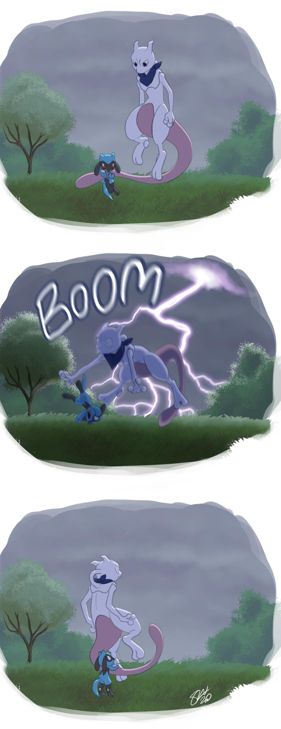 Lightning is rude