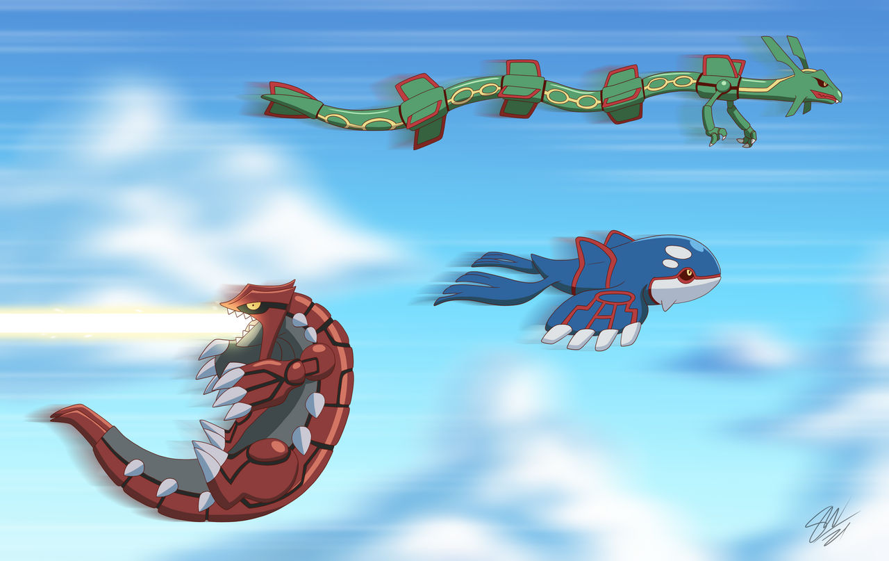 Groudon learned fly! by TC-96 on DeviantArt