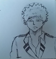 Sketch of The Angriest Boy in Japan