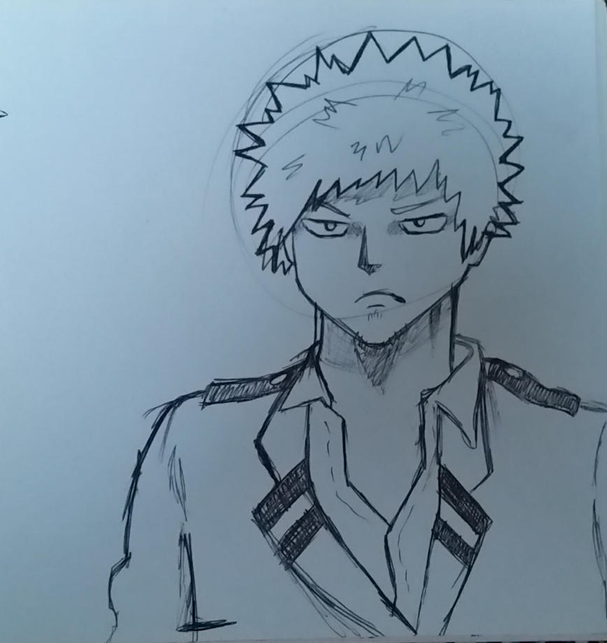 Sketch of The Angriest Boy in Japan by Reginadolce