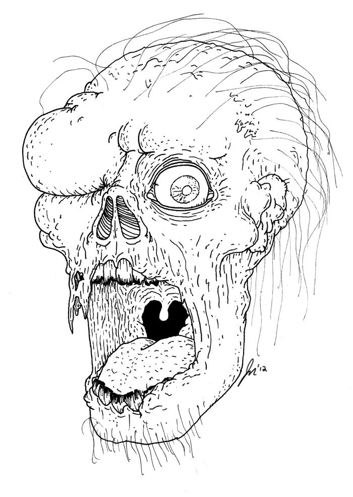Zombie 3 by SlamBradley