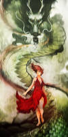 Dragonborn by InkTheory