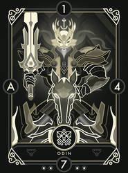 Aeterna Odin by InkTheory