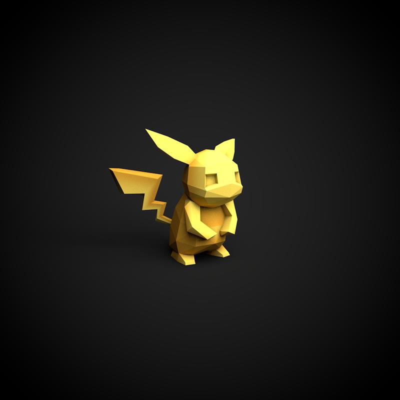 Pikachu by InkTheory