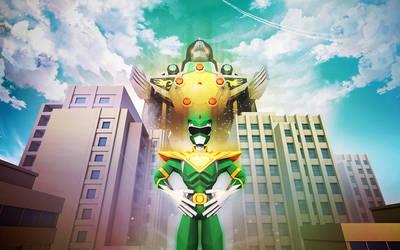 Green Ranger by InkTheory