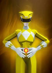 Yellow Ranger by InkTheory