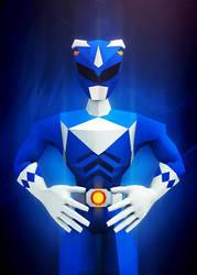 Blue Ranger by InkTheory