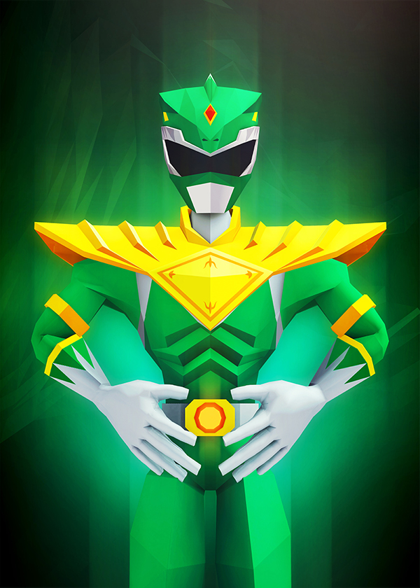 Green Ranger by InkTheory