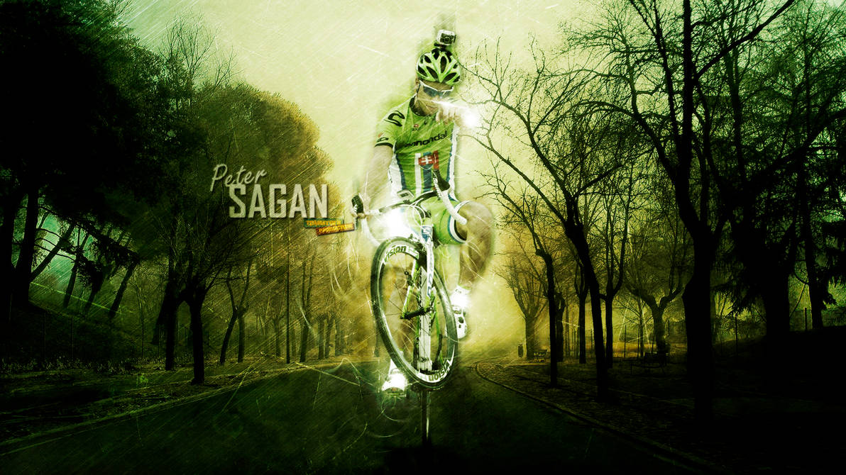 Peter Sagan The Superstar Of Bicycling By Tommyniusgfx On