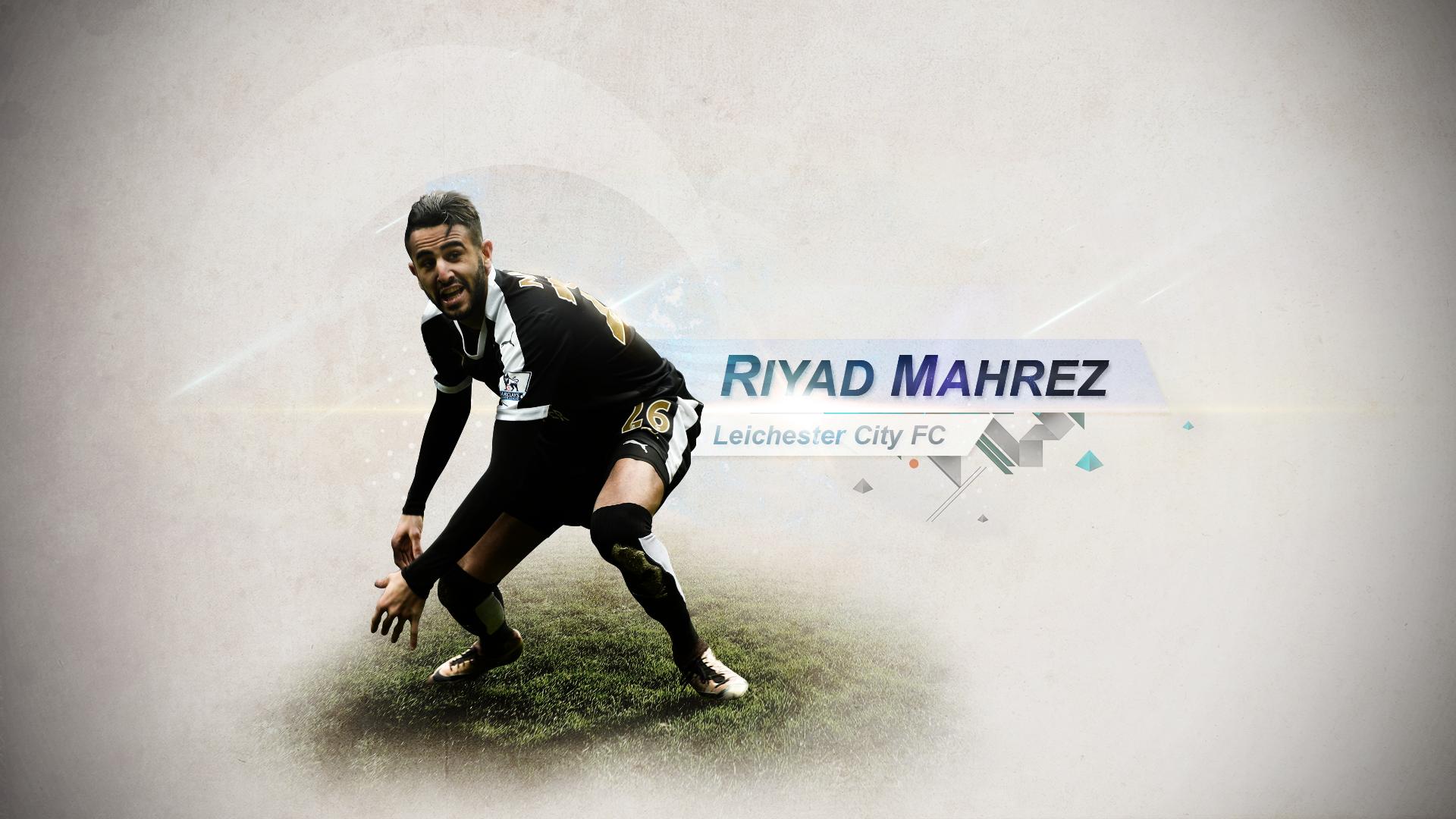#1 Riyad Mahrez By TommyniusGFX On DeviantArt