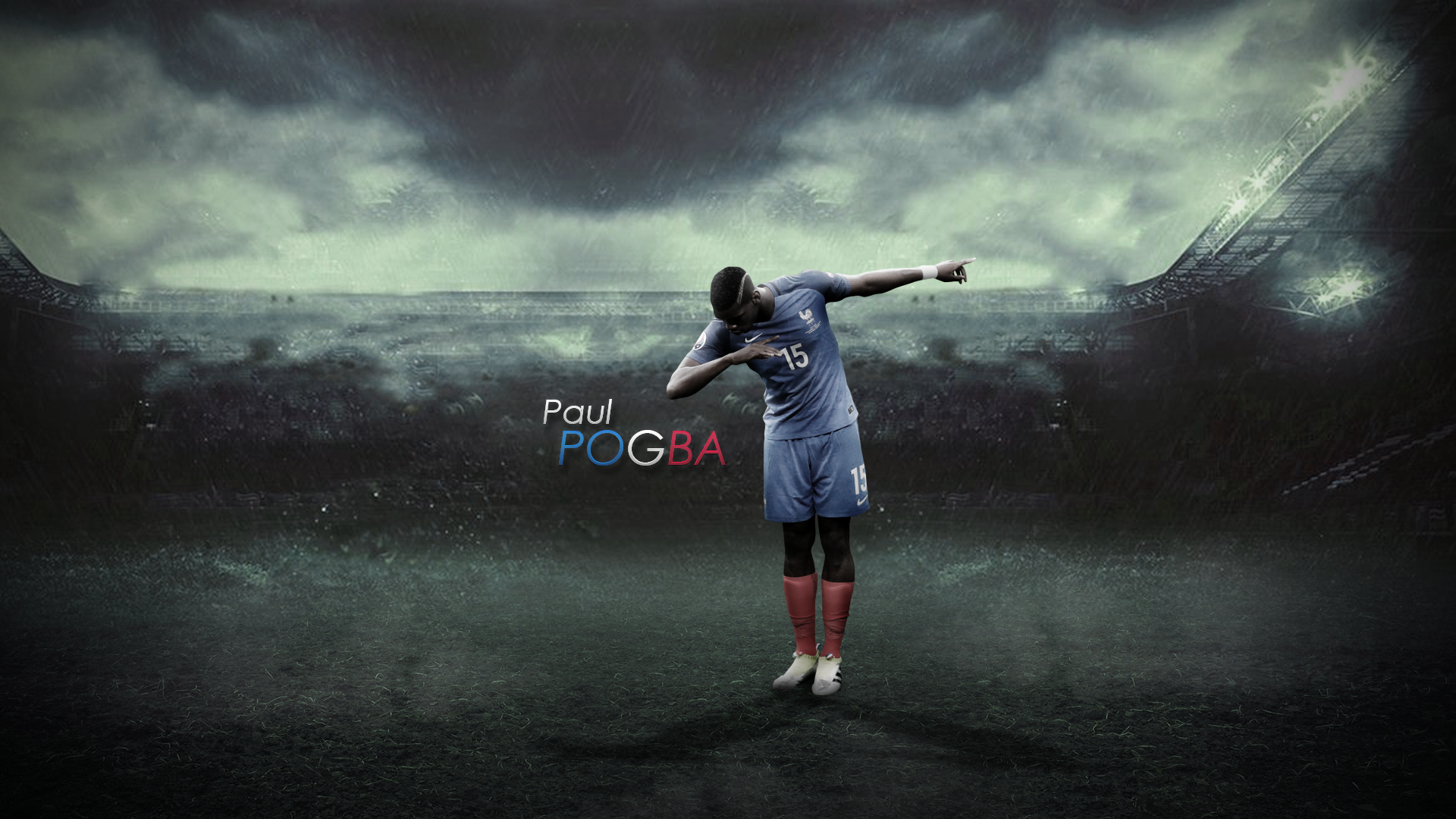 #8 Paul Pogba By TommyniusGFX On DeviantArt