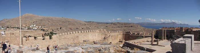 Greece, Lindos acropolis, Rhodes 7 by cheasedragon