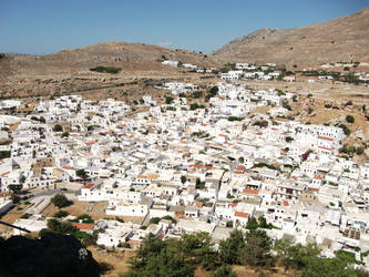 Greece, Lindos, Rhodes 8 by cheasedragon