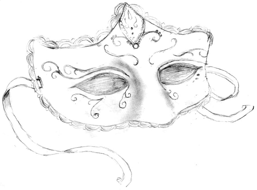 Masquerade Masks Sketches