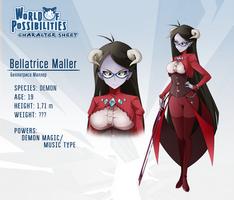 WoP character sheet - Bellatrice