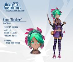 WoP character sheet - Haru