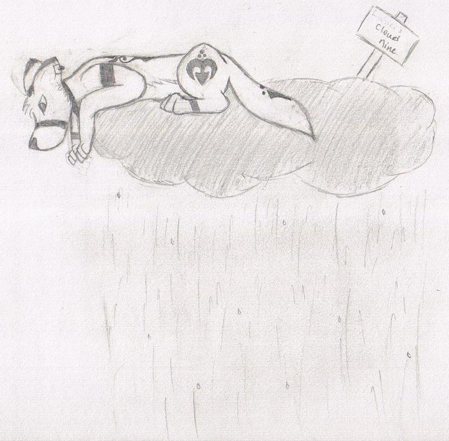 Cloud Nine Sadness by KoOkami