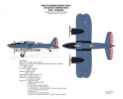 New STD Bomber Design Study Ver 4 - D Model