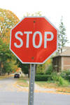 Stop Sign Stock