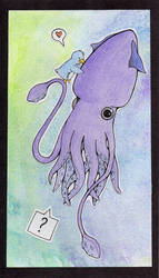 Squid Hug by Fohat