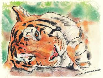 My love Tiger!! by UkkiRainbow