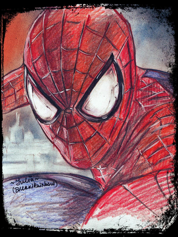 Spiderman by UkkiRainbow
