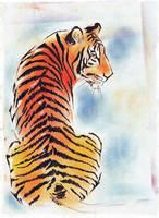 Tiger by UkkiRainbow