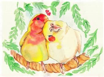 Sweet Couple by UkkiRainbow