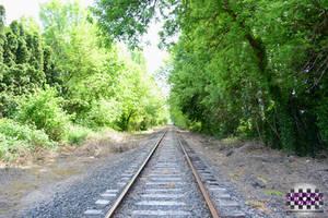 Old Train Tracks - A Feeling of Infinity by GenniGenevieve