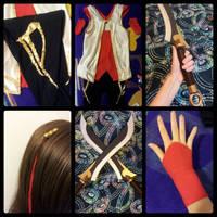 Warring Kingdoms Katarina Cosplay - Costume Pieces by GenniGenevieve