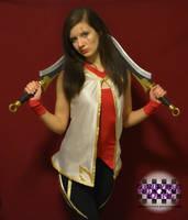 Warring Kingdoms Katarina Cosplay by GenniGenevieve