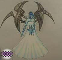 Ghost Bride Morgana by GenniGenevieve