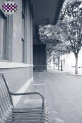 Just Waiting (BW) by GenniGenevieve