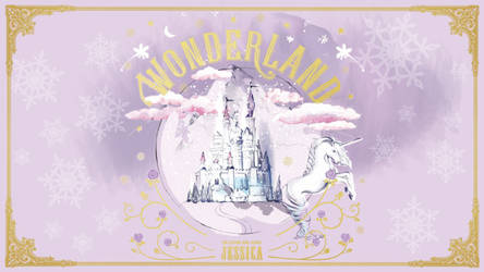 Wonderland by Jessica (Wallpaper) by GenniGenevieve