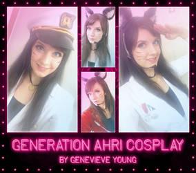 Generation Ahri Cosplay by GenniGenevieve