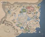 Zelda: Breath of the Wild map ~ stylized