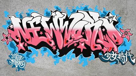 Girls' Generation - Into the New World graffiti by GenniGenevieve