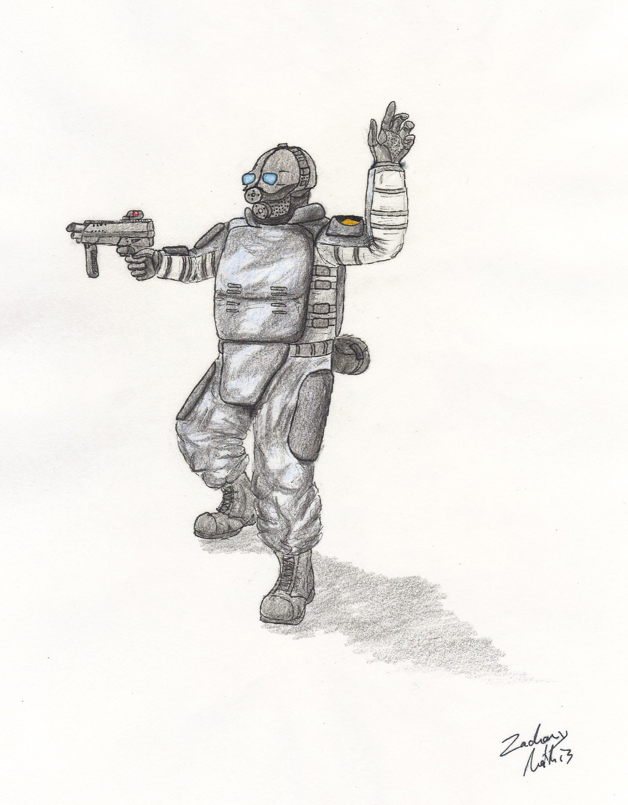 Combine Soldier Art | www.imgkid.com - The Image Kid Has It!